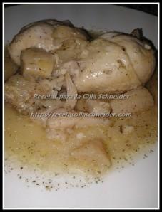 Pollo con pera