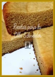 bizcocho de cuajada sin gluten (harina de arroz)