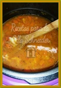 Schneider Sopa de tomate y langostinos 03