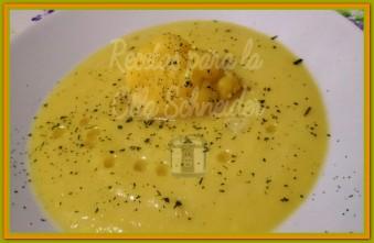 Recetas Olla Schneider crema de coliflor