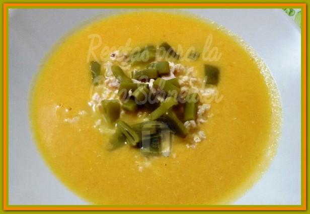 Recetas Olla Schneider crema de verduras y pollo 002