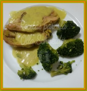 Recetas Olla Schneider chuletas de pavo con salsa de cebolla